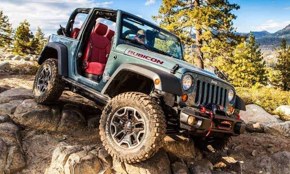 Jeep Wrangler Off-Roading