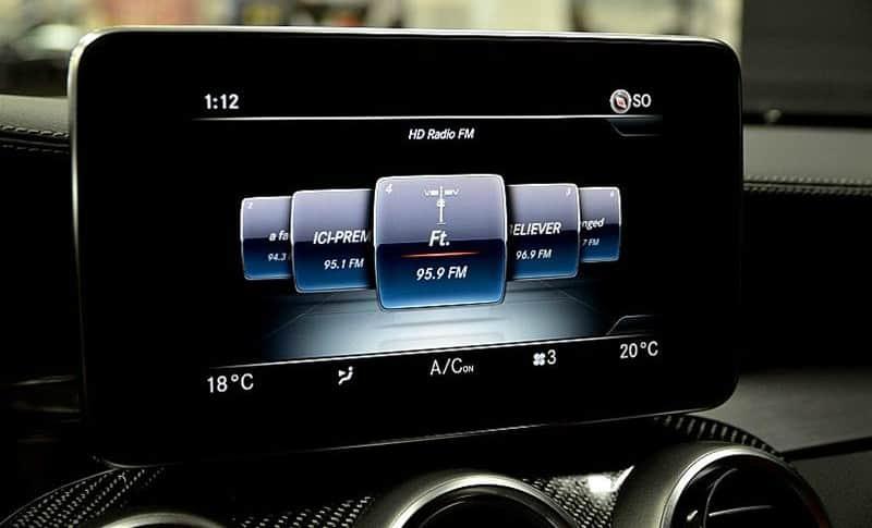 HD Radio Mercedes-Benz