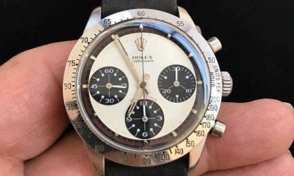 Rolex Watch In hand