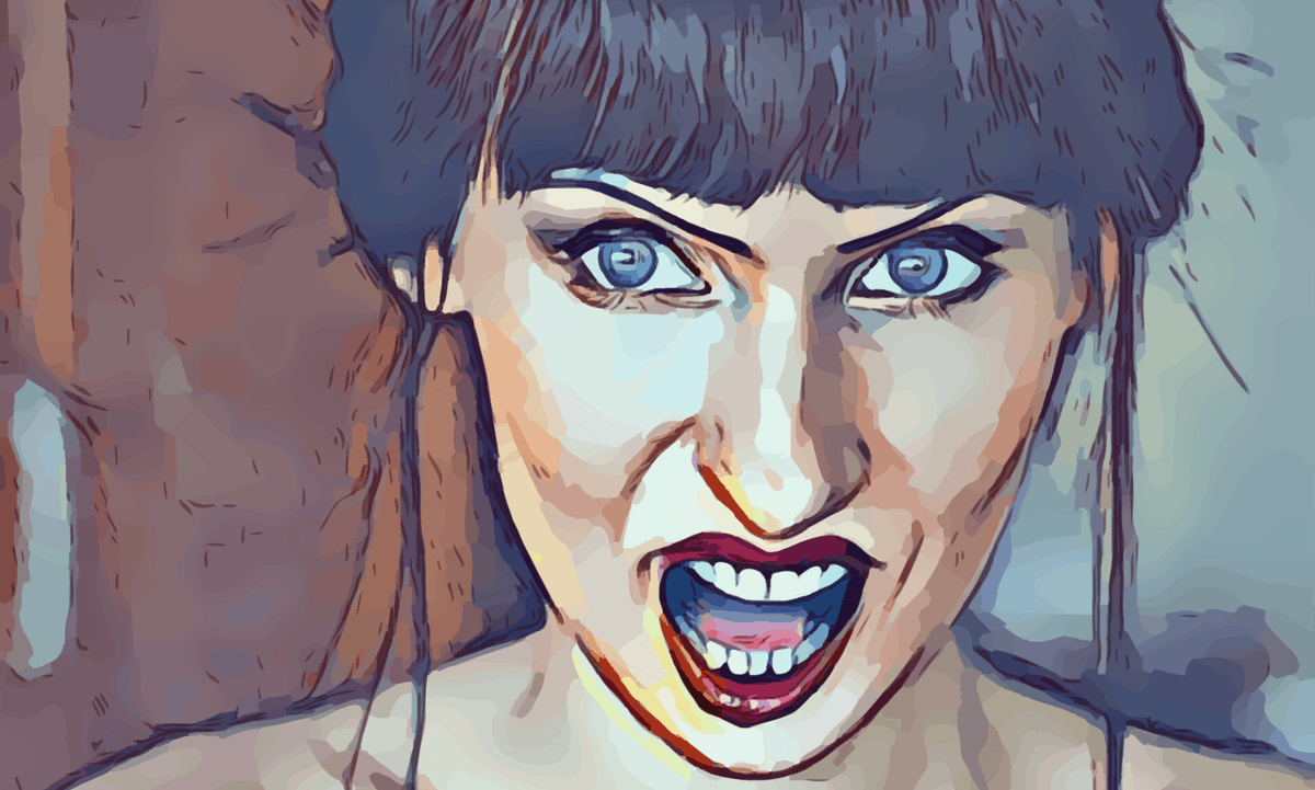 Angry Woman Art