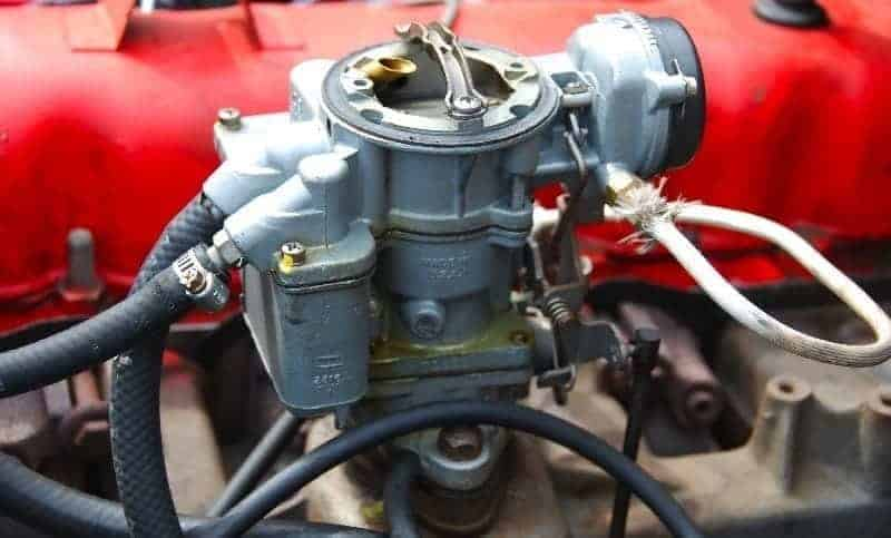 Carter Carburetor, single barrel