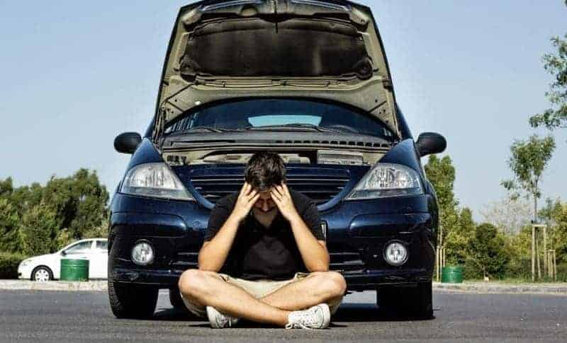 Guy with car problems