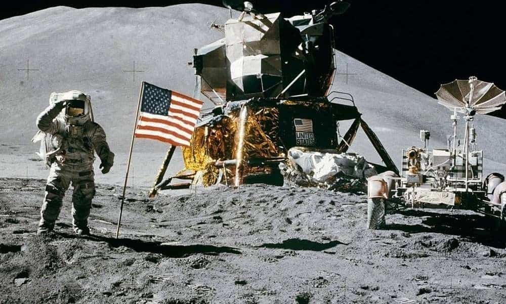 Space race, man on moon