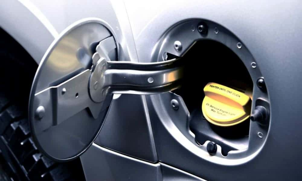 Car Fuel Filler Door