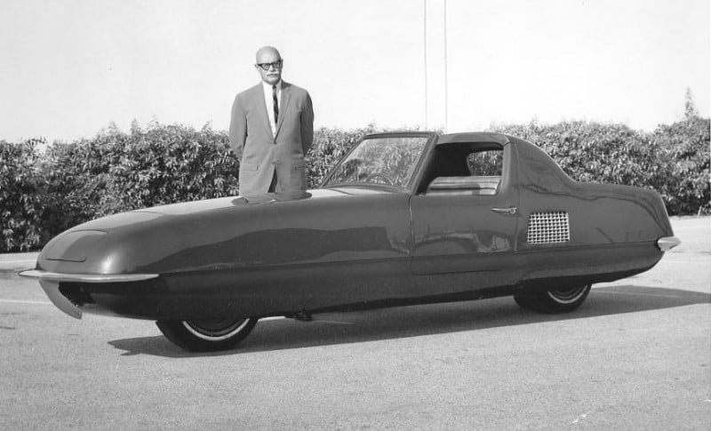 Gyro-X Two-Wheel Car