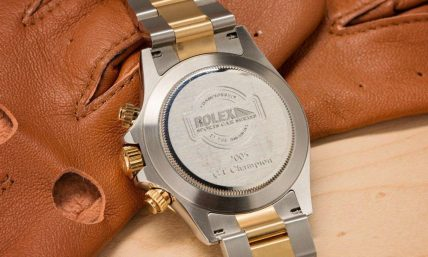 Real Rolex Watch Case back