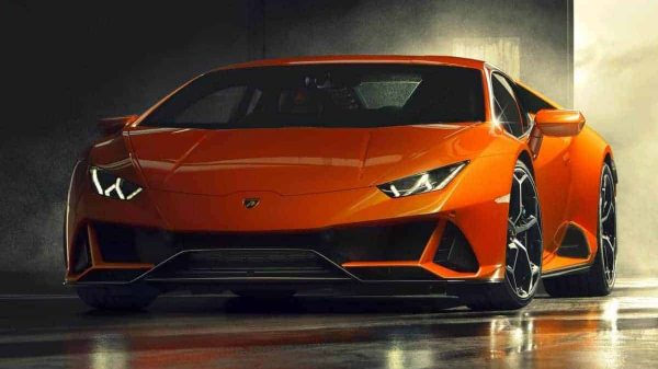 New Lamborghini Huracan Evo supercar