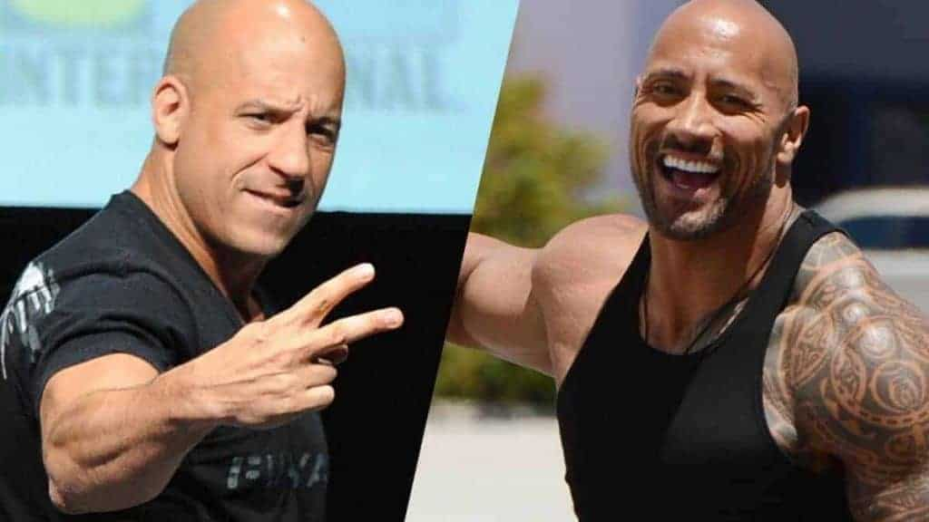 The Rock and Vin Diesel