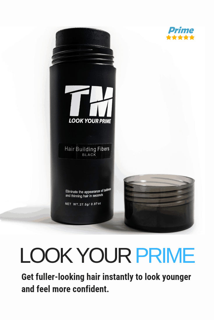 Too Manly Hair Thickening Fibers