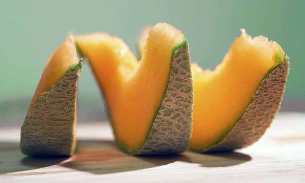 Cantaloupe Sliced