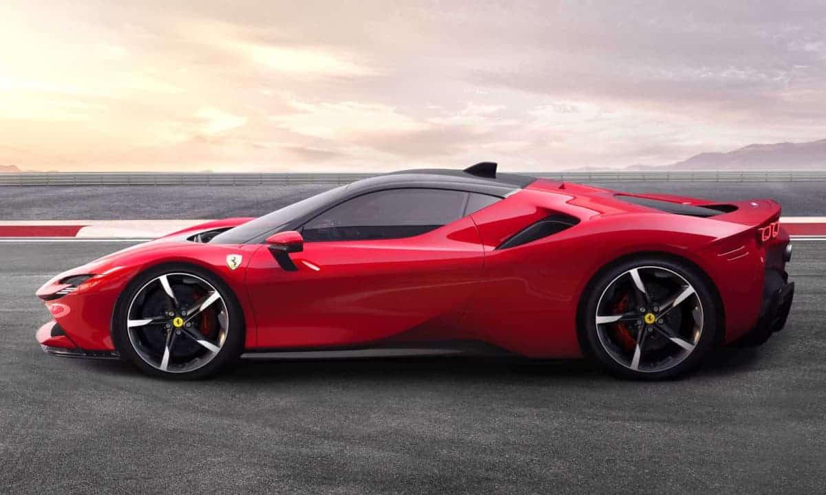 Ferrari SF90 Stradale hybrid supercar