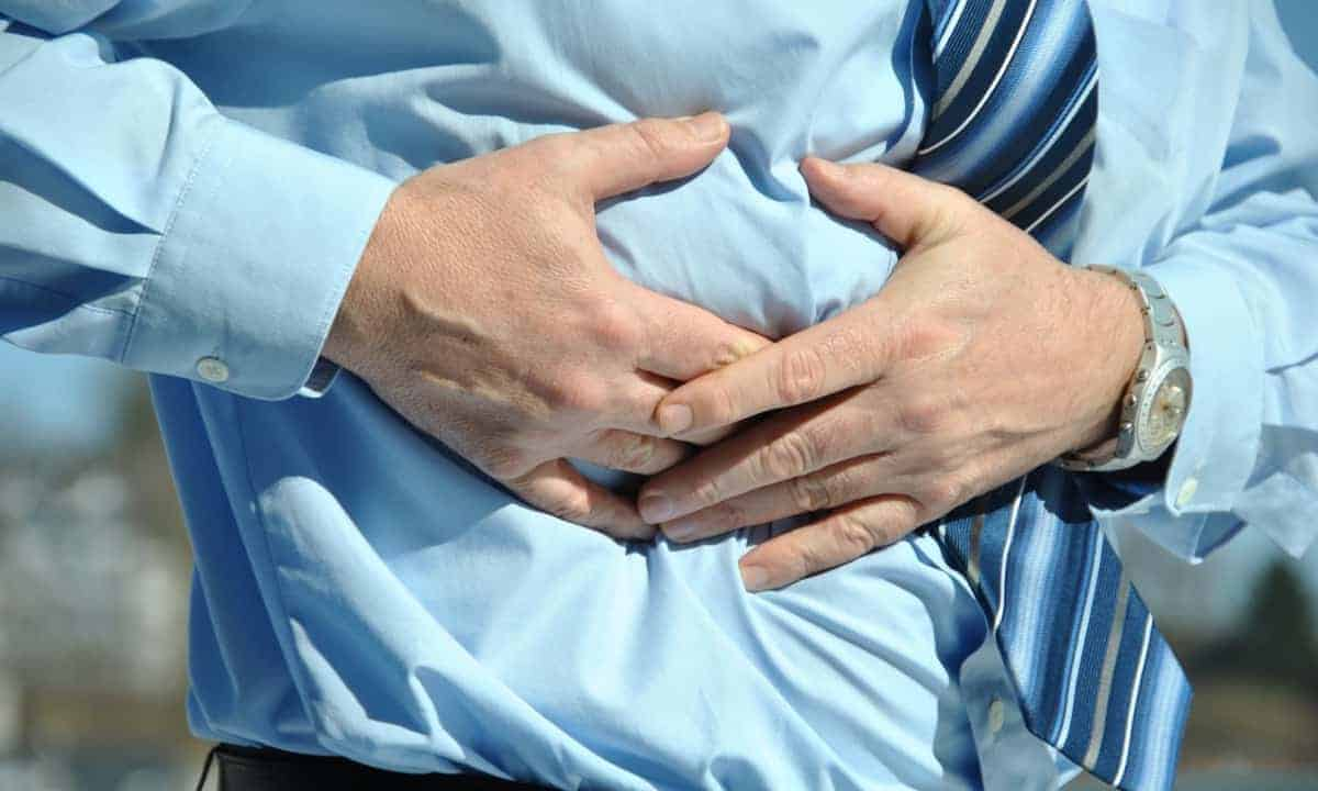 Man abdominal pain