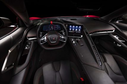 New, 2020 Chevy Corvette C8 Stingray, black interior