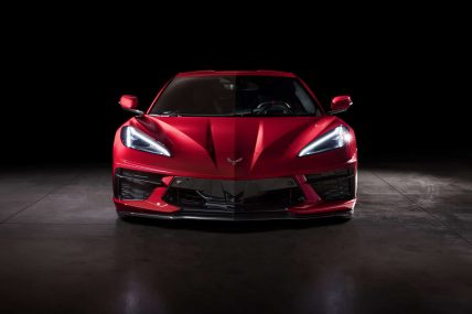 New, 2020 Chevy Corvette C8 Stingray, front