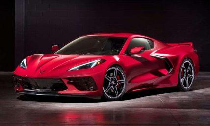 New, 2020 Chevy Corvette C8 Stingray supercar