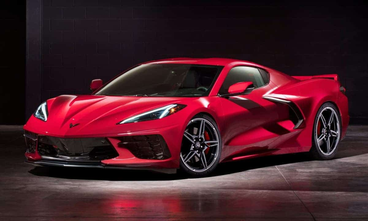 New, 2020 Chevy Corvette C8 Stingray supercar