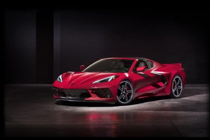 New, 2020 Chevy Corvette C8 Stingray, top off