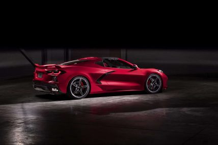 New, 2020 Chevy Corvette C8 Stingray, top removed