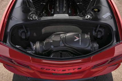 New, 2020 Chevy Corvette C8 Stingray, trunk
