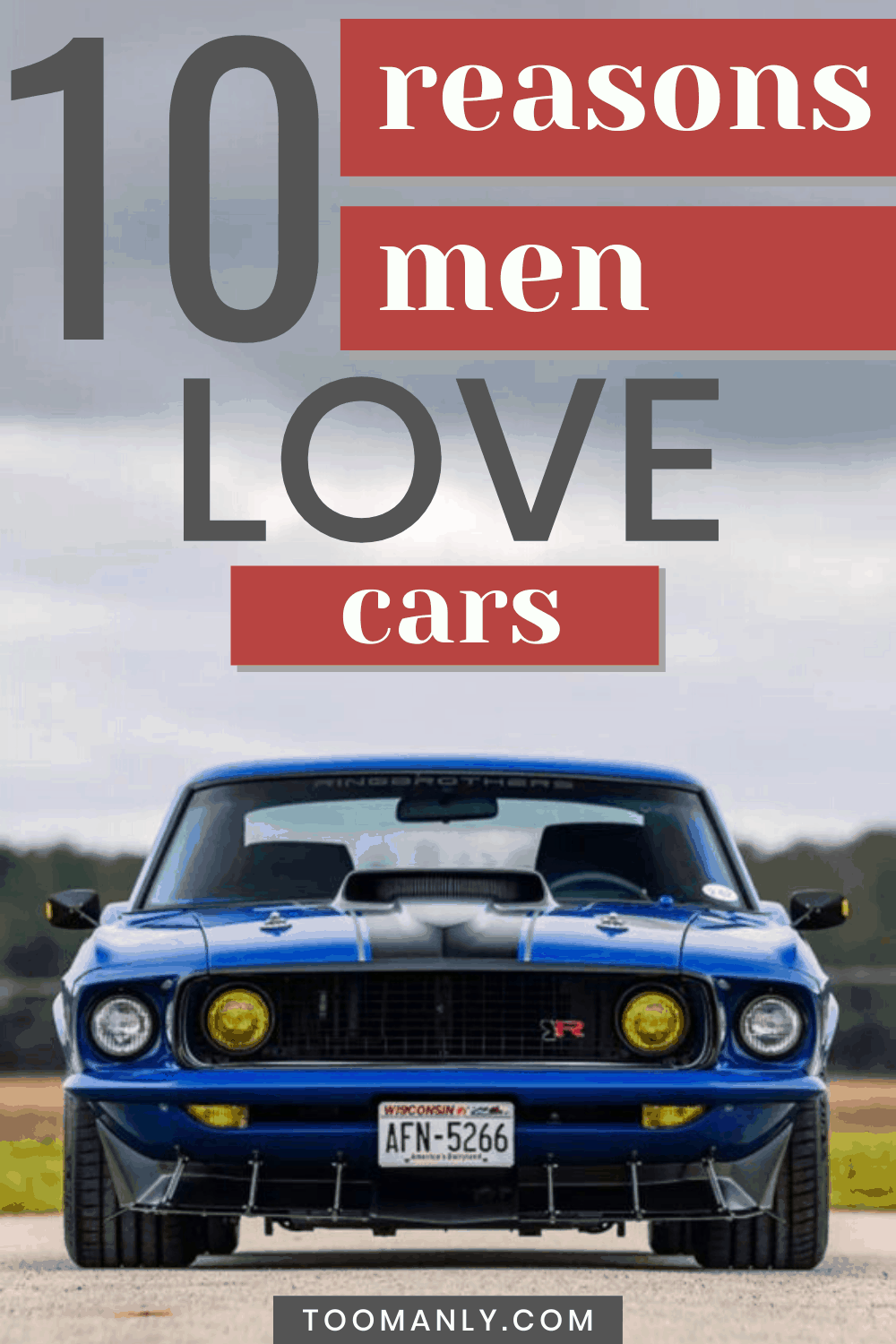 Cool Cars For Guys - Classic Muscle Car