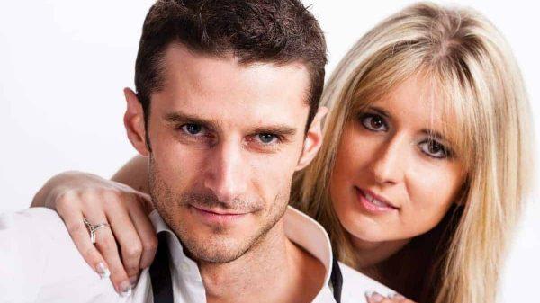 Man Woman Happy Couple
