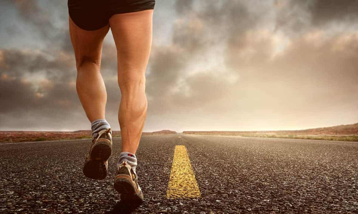 Jogging helps with self agency