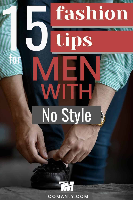 Men's Fashion Tips Ideas