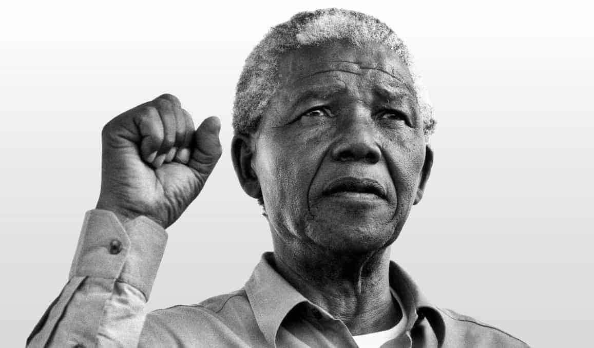 nelson mandela self-actualization examples