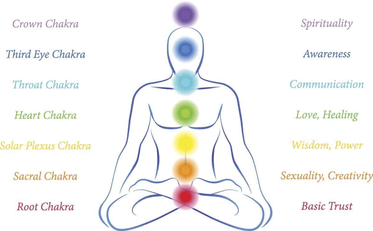 7 chakra and endocrine system