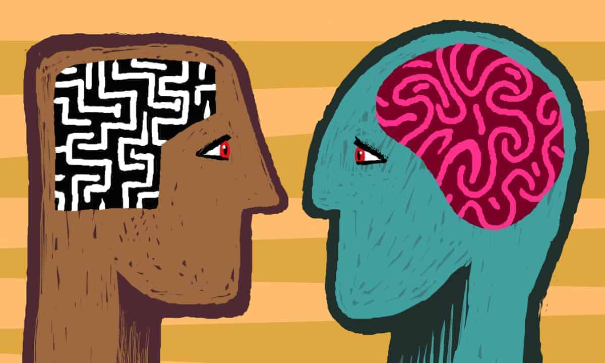 Man and Woman brain