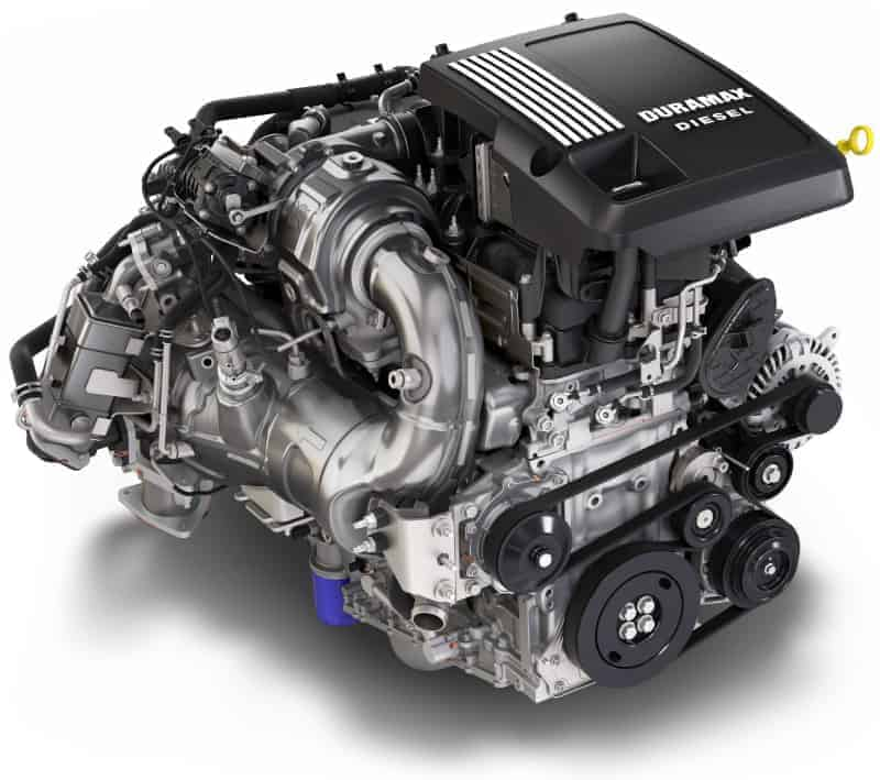 New 2021 Cadillac Escalade Duramax diesel engine