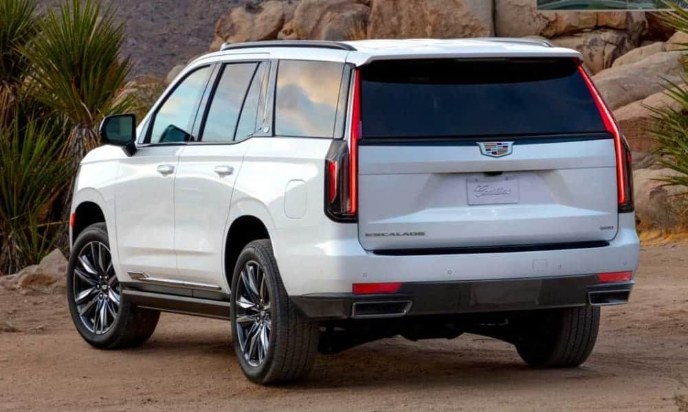 New, 2021 Cadillac Escalade Luxury SUV Adaptive Suspension (1)