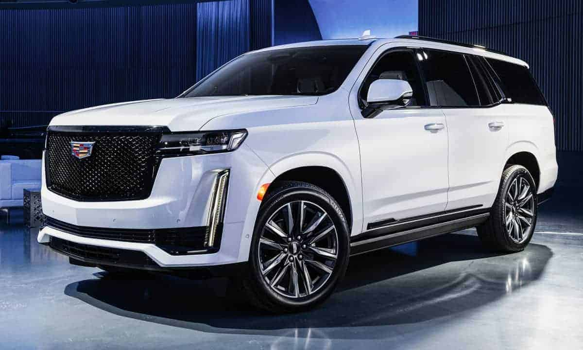 New, 2021 Cadillac Escalade Luxury SUV