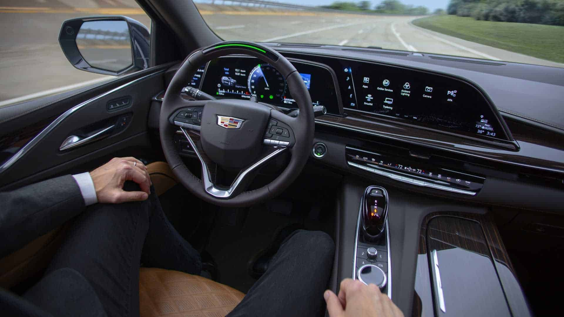 New, 2021 Cadillac Escalade Super Cruise Hands-Free Driving