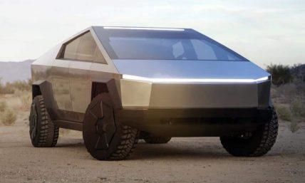 Tesla Cybertruck Real Men