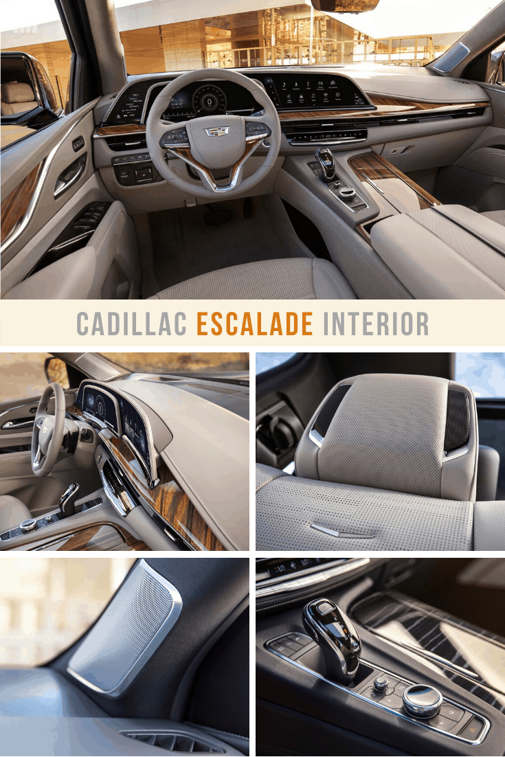cadillac escalade best luxury SUV interior