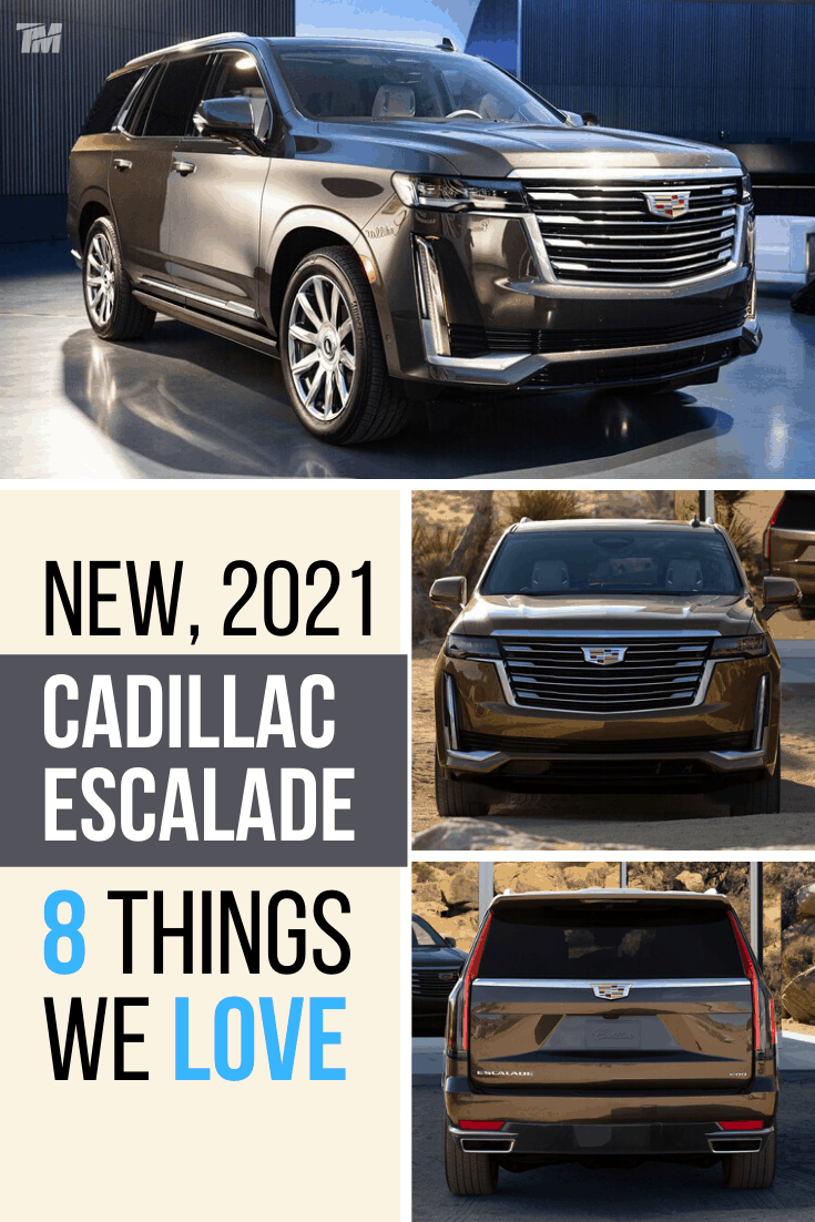 cadillac escalade best luxury SUV platinum brown