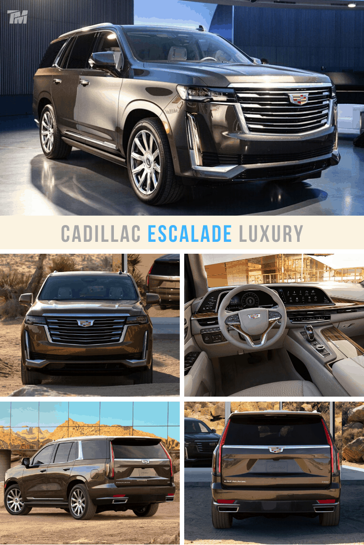 cadillac escalade best luxury SUV platinum