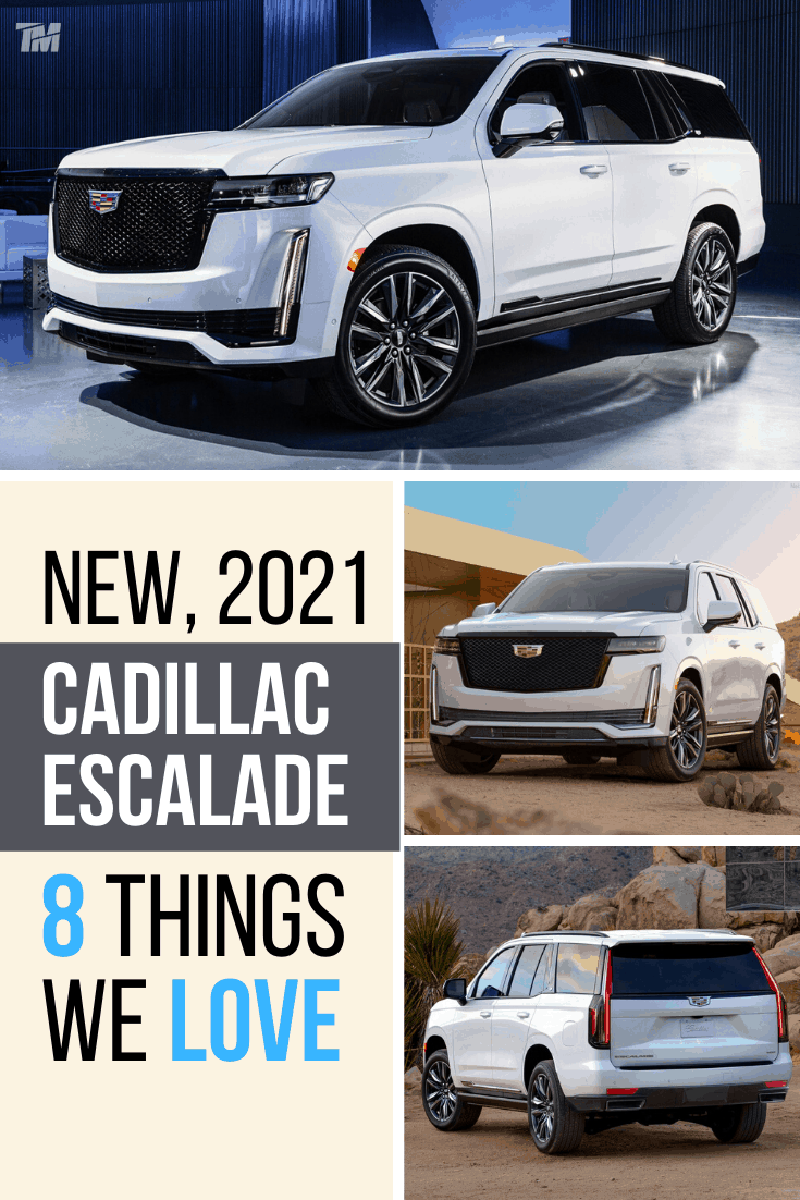 cadillac escalade best luxury SUV sport white
