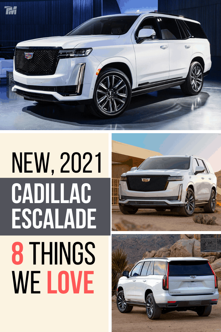 cadillac escalade best luxury SUV sport