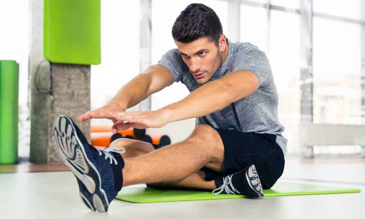 At Home Workouts For Men Stretching