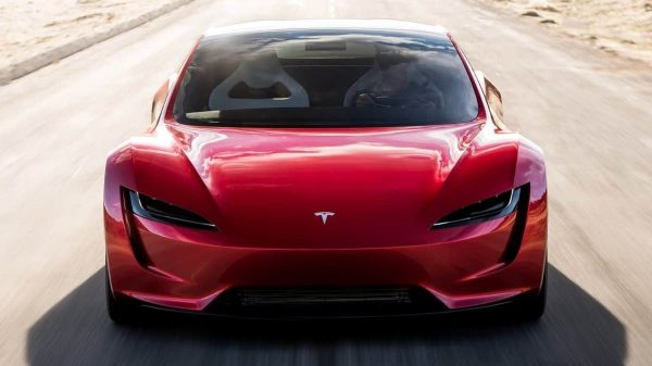 New Tesla Roadster 2.0 sports car