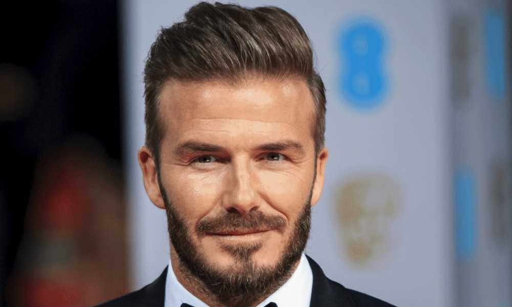 david beckham Slicked Back Mne's Hairstyles for Thinning Hair