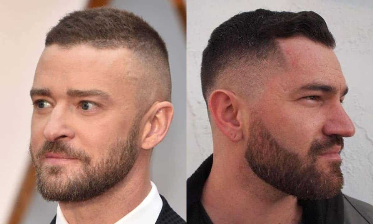 High and tight mens haircuts for thinning hair