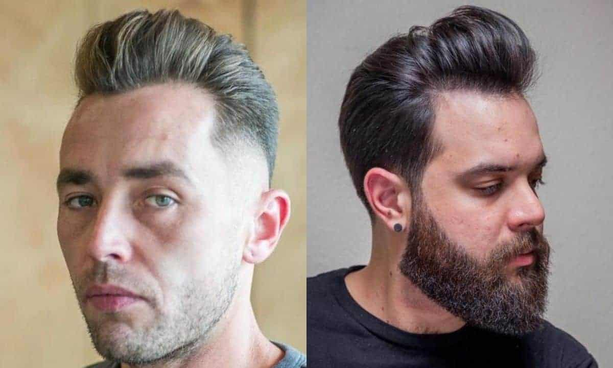 Pompadour men's hairstyles for thinning hair