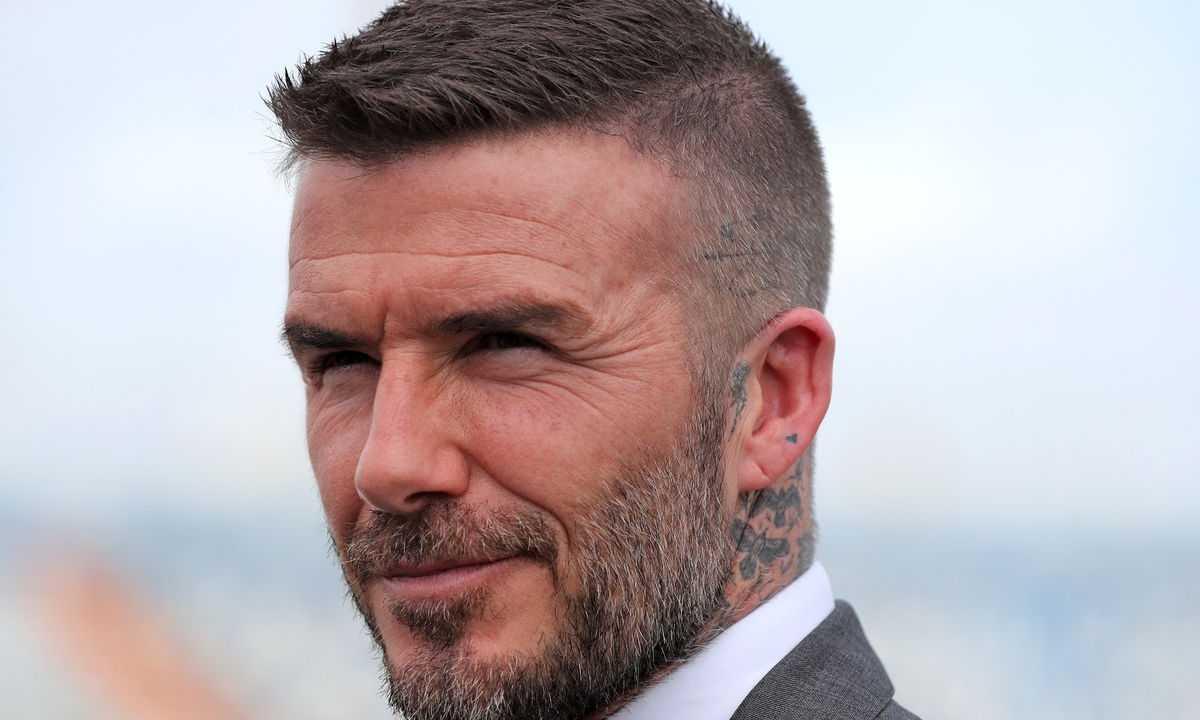 David Beckham Short Haircuts For Men