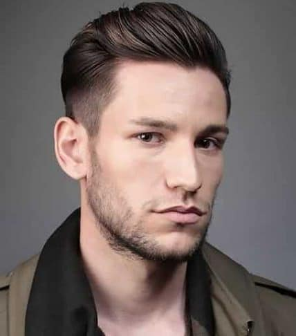 Short Hairstyles For Men - Classic Combed Back Style