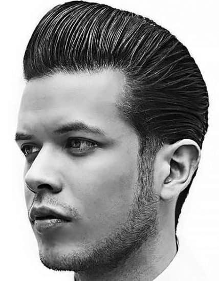 Classic Pompadour Short Haircut For Men