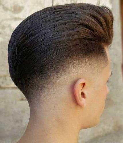 Drop Fade Short Haircut For Men