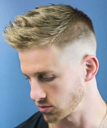 Short Haircuts For Men - Fauxhawk
